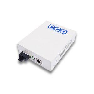 CCD-POE-2100-SC 10/100Mbps Single Mode 80km Media Converter