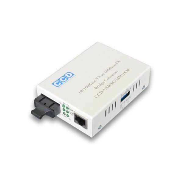 CCD-5100-SC 10/100Mbps Single Mode 20km Media Converter