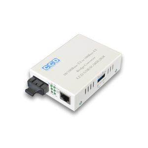 CCD-5100-SC 10/100Mbps Single Mode 80km Media Converter