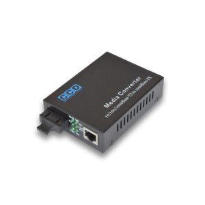 CCD-7100-SC 10/100/1000Mbps Single Mode 20km Media Converter