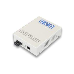 CCD-POE-4100-ST 10/100/1000Mbps Single Mode 20km Media Converter