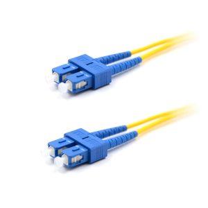 CCD SC-SC Multimode OM1 Duplex Fibre Optic Patch Cable 1m