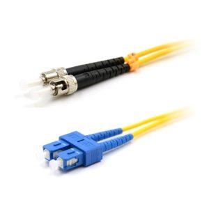 CCD SC-ST Multimode OM1 Duplex Fibre Optic Patch Cable 0.5m